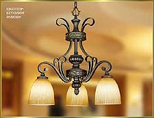 Neo Classical Chandeliers Model: KB0015-3H