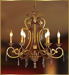 Neo Classical Chandeliers Model: KB0020-6H