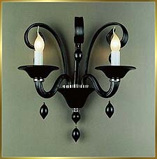 Chandelier Model: MB8002-2W BLACK
