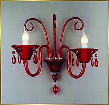 Chandelier Model: MB8003-2W RED