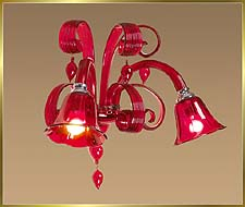Chandelier Model: MB8007-2W-RED