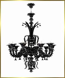 Murano Chandeliers Model: MD5116-10BLACK