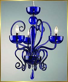Murano Chandeliers Model: MD6002-3-BLUE