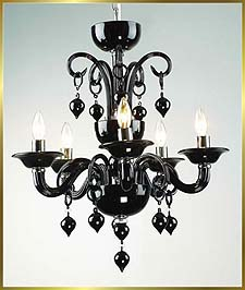 Chandelier Model: MD6008-5-BLACK