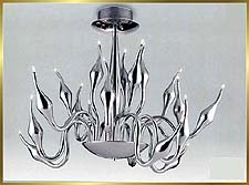 Contemporary Chandeliers Model: MD6212-18