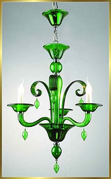 Chandelier Model: MD8002-3-GREEN