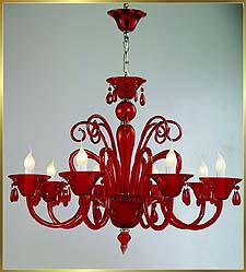 Chandelier Model: MD8003-8 RED