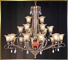 Antique Crystal Chandeliers Model: MD8513-21B