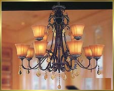 Antique Crystal Chandeliers Model: MD8514-12B