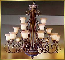 Classic Chandeliers Model: MD8628-21