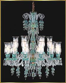 Chandelier Model: MD88037-18- BLUE