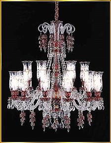 Chandelier Model: MD88037-18-RED