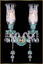 Chandelier Model: MD88037-2-Blue