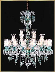 Chandelier Model: MD88037-28- BLUE
