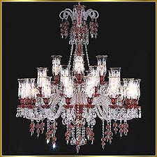 Chandelier Model: MD88037-28- RED