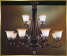 Classic Chandeliers Model: MD8932-12
