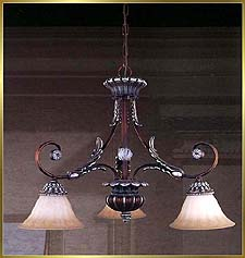 Antique Crystal Chandeliers Model: MD8932-3D