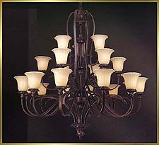 Classic Chandeliers Model: MD8939-21