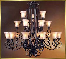 Antique Chandeliers Model: MD8948-21B