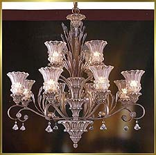 Neo Classical Chandeliers Model: MD8955-12B