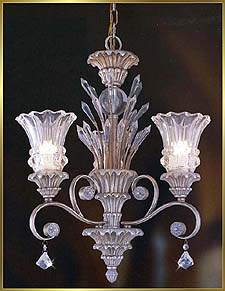 Antique Crystal Chandeliers Model: MD8955-3B