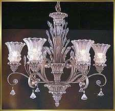 Antique Crystal Chandeliers Model: MD8955-6B