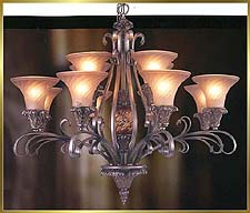 Neo Classical Chandeliers Model: MD8960-12B