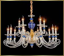 Chandelier Model: MD9838-15-Blue