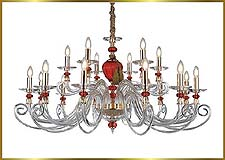 Traditional Chandeliers Model: MD9838-18