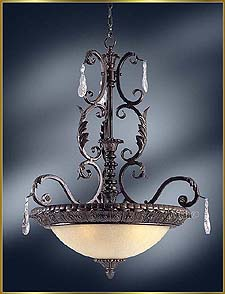 Wrought Iron Chandeliers Model: MG-2350