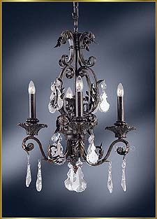 Wrought Iron Chandeliers Model: MG-2400