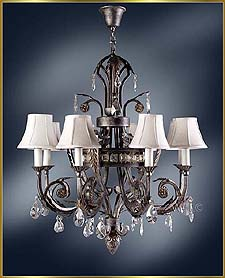 Wrought Iron Chandeliers Model: MG-3250
