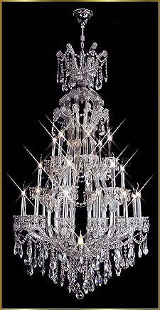 Chandelier Model: MG-5460 CH