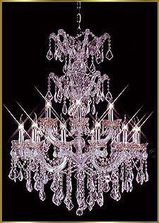 Chandelier Model: MG-5480 CH