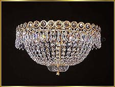 Flush Mount Chandeliers Model: MG-7100