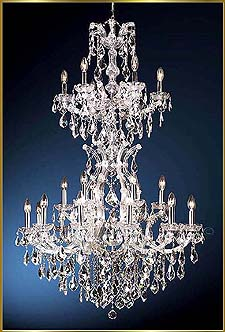 Maria Theresa Chandeliers Model: MG-7152