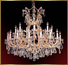 Maria Theresa Chandeliers Model: ML-1030