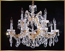 Maria Theresa Chandeliers Model: ML-1060