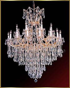 Maria Theresa Chandeliers Model: ML-1070
