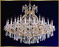 Maria Theresa Chandeliers Model: ML-1075