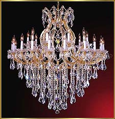 Maria Theresa Chandeliers Model: ML-1085