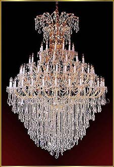 Maria Theresa Chandeliers Model: ML-1090