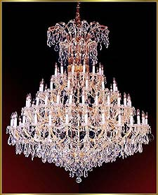 Maria Theresa Chandeliers Model: ML 1100