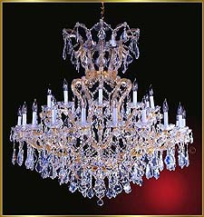 Maria Theresa Chandeliers Model: ML-1042