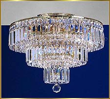 Flush Mount Chandeliers Model: MU 1512 CH