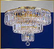 Flush Mount Chandeliers Model: MU 1512