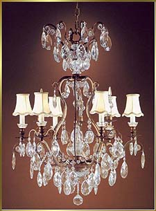 Wrought Iron Chandeliers Model: MU-2370