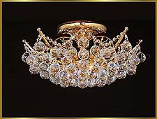 Flush Mount Chandeliers Model: MU-3250