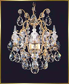 Wrought Iron Chandeliers Model: MU-3400