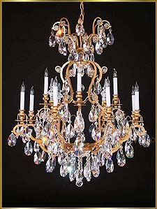 Wrought Iron Chandeliers Model: MU-4025